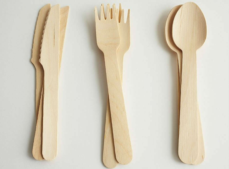 image of wooden cutlery